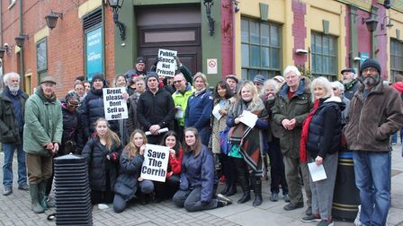Save the Corrib campaigners launched a petition in February (pic: Lloyd Fothergill)