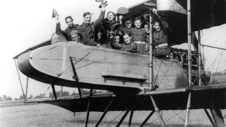 Charabanc - World War 1 aviation history in Kingsbury is being celebrated in an exhibition