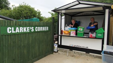 Hendon have renamed a part of their ground as Clarke's Corner in memory of the late Geraldine and Da