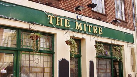 The former Mitre pub in Copenhagen Street. Picture: Ewan Munro/Flickr/CC BY-SA 2.0