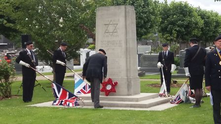 Annual remembrance service at Willesden Cemetery
