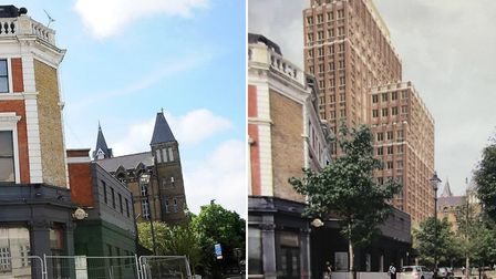 Archway�s makeover shows no sign of slowing after plans were unveiled for a 17-floor block on the ol