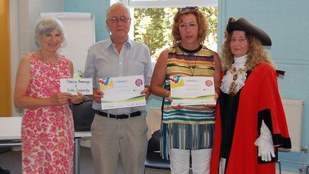 Victor Jankovsky and Patricia Kavanagh won the supported living/shared lives category in Islington C