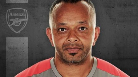 Kwame Ampadu is pleased with his players' development. Credit Arsenal FC
