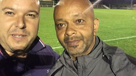 Under 18s supremo Kwame Ampadu and Arsenal reporter Layth Yousif