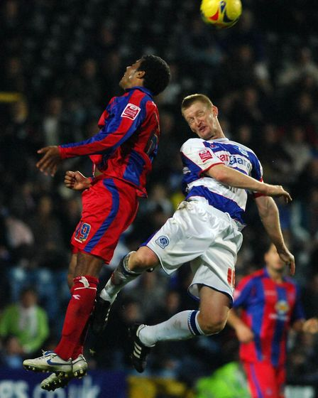 Steve Lomas (right) in action for Queens Park Rangers against Crystal Palace (pic: PA)