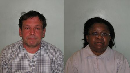Fraudsters Livio Mazzarello and Louisa Mbadugha cheated the public purse out of tens of millions of