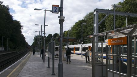 An Overground passenger was assaulted after alighting at Canonbury station. Picture: Joshua Brown/Fl