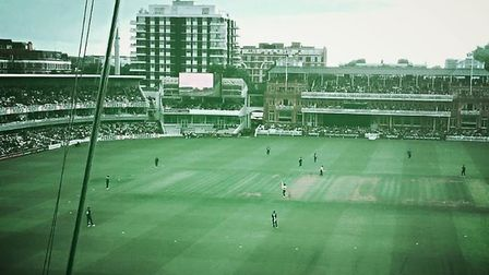 Middlesex beat Essex in the NatWest T20 Blast at Lord's on Thursday. Credit Layth Yousif