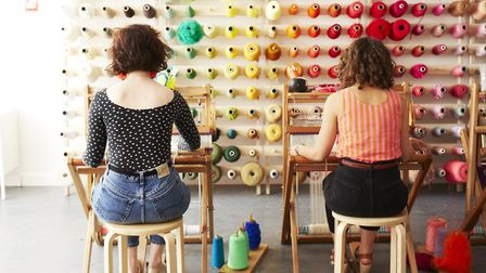 Brooke and Francesca of The London Loom. Picture: Rita Platts