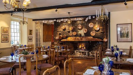 The Spread Eagle hotel dining room. Picture' Mark Langridge