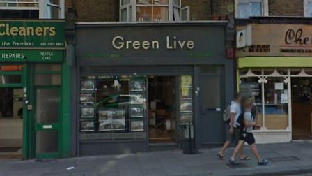 Green Live in Holloway Road. Picture: Google Maps