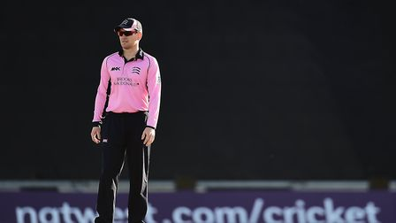 Middlesex's Eoin Morgan (pic Adam Davy/PA)