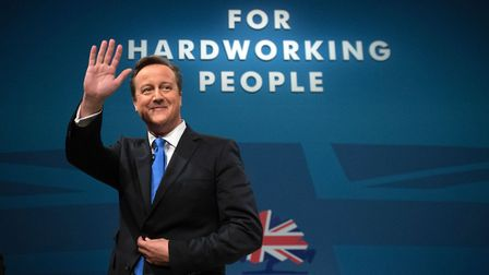 Our saviour? Former prime minister David Cameron. Photograph: PA Wire.