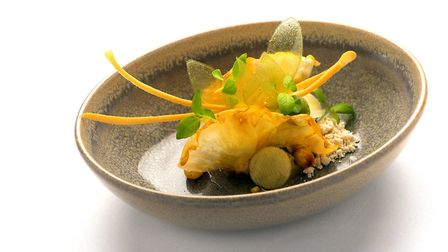 La Source is one of the on site restaurants and has a Michelin star