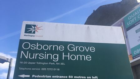 Haringey Council has been warned residents of Osborne Grove Nursing Home will die if the home is for