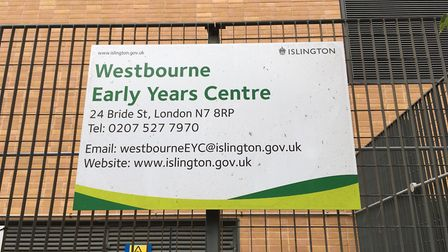 Westbourne Early Years Centre in Bride Street. Picture: James Morris