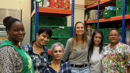 Network Homes staff spent a day volunteering at Brent Foodbank