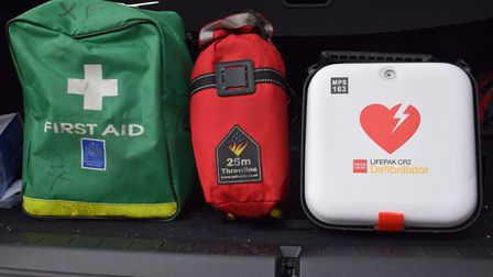 Defibrillator kits have been rolled out in Haringey (Picture: Met Police)