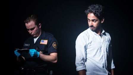 National Youth Theatre, The Reluctant Fundamentalist. Picture: Helen Murray