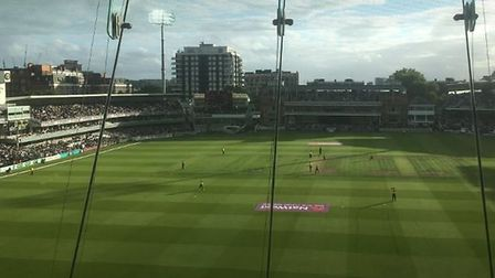 Middlesex v Hampshire at Lord's. Picture: Layth Yousif