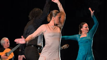 Flamencura at Sadler's Wells. Picture: Jeremy Toth