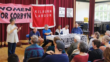 The South Kilburn Labour Party held a meeting with residents to discuss a number of issues, includin