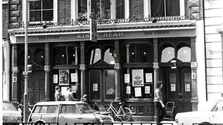 The King's Head pub in the 1980s. Picture: Islington Local History Centre