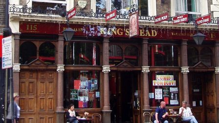 The Kings Head Theatre is leaving the King's Head pub in Upper Street. Picture: Ewan Munro/Flickr/CC