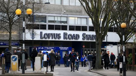 A general view of the outside of Loftus Road, the home of Queens Park Rangers (pic: John Walton/PA)
