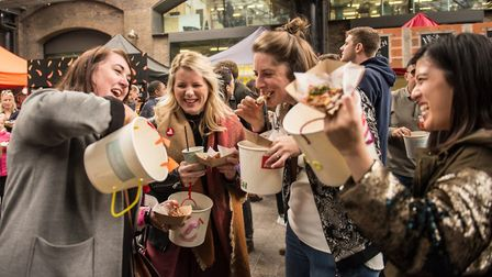 The ultimate vegan rumble was sold out following Kerb's previous chicken bucket blowout, The Bucket