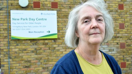 Maureen Collins, who is retiring from the New Park Day Centre after 50 years. Picture: Polly Hancock