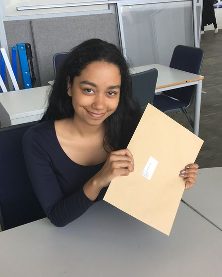 Jade Khan bagged three '9' grades in the first year of GCSE numerical systems for English and Maths
