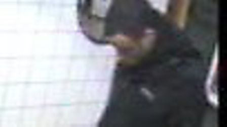 Transport police want to speak to this man. Picture: BTP