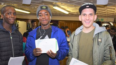 Students excelled in a number of their exams Picture: Alperton Community School