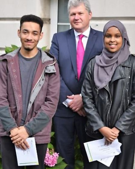 James Simkins has been accepted into Cambridge whilst Omaima Ali will be studying medicine at Oxford