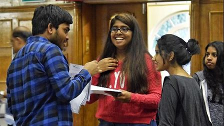 The school saw their best A-level results ever Picture: Alperton Community School