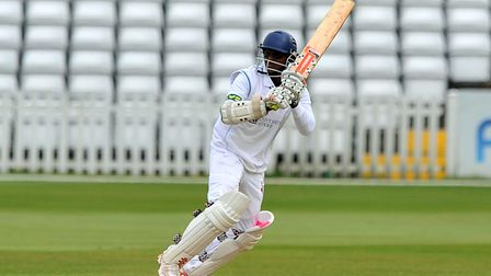 The ageless Shivnarine Chanderpaul steadied the ship for listing Lancashire before departing on 29.