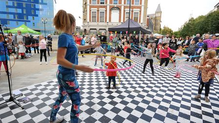 Islington Council held 'Archway Your Way' on Saturday to celebrate the new town centre and promote t