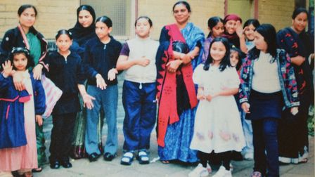 An archive picture of the Islington Bangladesh Association from 1987. Picture: Islington Bangladesh