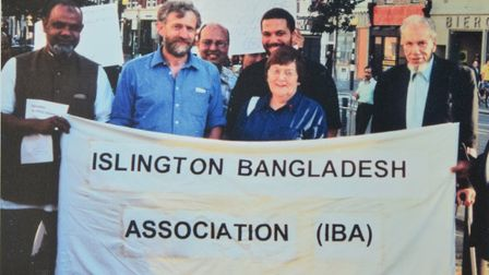 Islington North MP Jeremy Corbyn supported Islington Bangladesh Association when it was faced with c