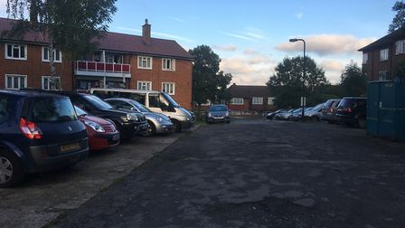 The car park is already at full capacity Picture: Nathan Louis