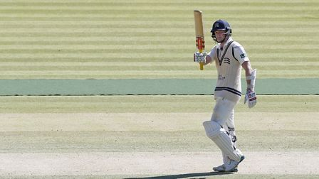Middlesex's Sam Robson scored a half-century against Lancashire (pic: Jed Leicester/PA Images)