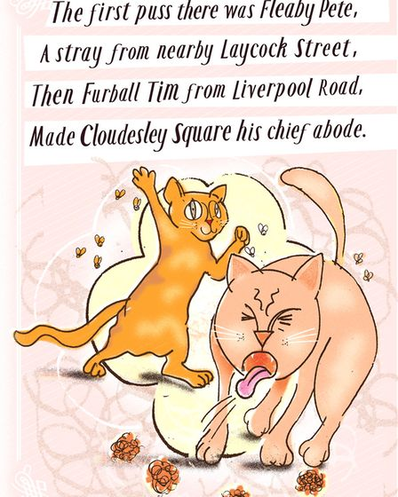 Tony Burke's The Cats of Cloudesley Square