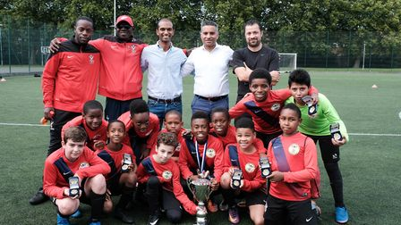 Young's FC emerged victorious winners of the Brent Super Cup 2017 (Picture: Nabeel Baig)