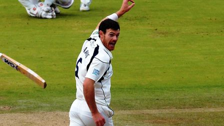 Middlesex's James Harris (pic PA)