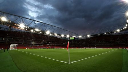 The Europa League match between Arsenal and Cologne has been delayed by an hour. Credit: PA