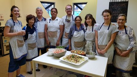 Abbey Community Cafe is reopening serving meals made from surplus food