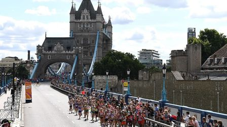 Athletes are taking part in various events across the capital (Picture: British Athletics).