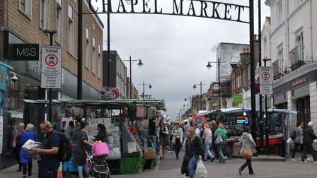 A cheese festival is coming to Chapel Market. Picture: Steve Poston